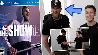 I MET BRYCE HARPER AT THE MLB THE SHOW 19 COVER SHOOT