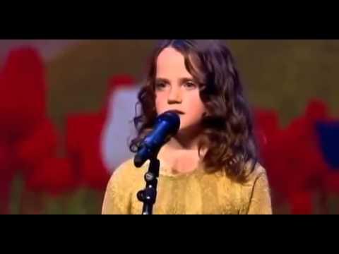 Cô Bé 9 Tuổi Hát Opera Gây Chấn Động Hà Lan Got Talent