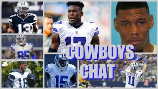 COWBOYS CHAT: WRs Outlook, Depth, Issues, & Options; The Case For Cutting Terrance Williams, & More!