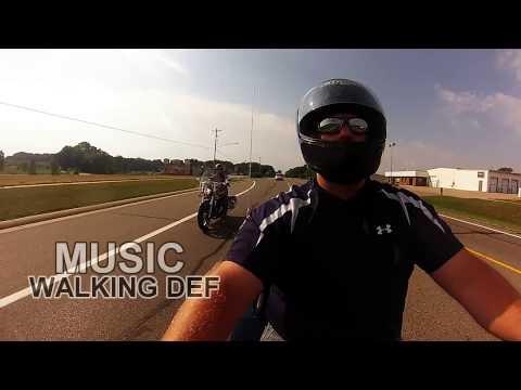Motorcycle trip, Lansing to Holland, MI, Summer 2013