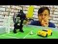 Автоботы и Десептиконы играют в футбол Супер матч Трансформеров mp3