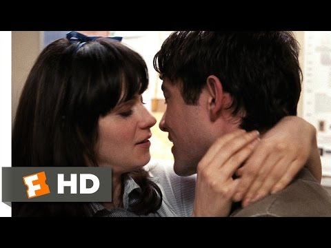 (500) Days of Summer (1/5) Movie CLIP - Copy Room Kiss (2009) HD