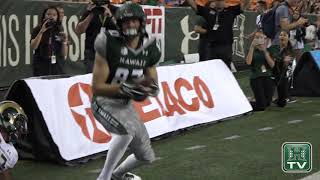 Hawaii Football Highlights vs. Colorado State 9-30-17