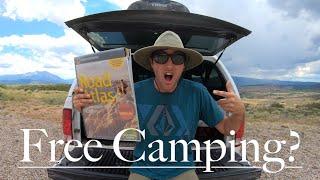 Free Camping Colorado! H๐w to find free camping! Colorado Free Campsites!
