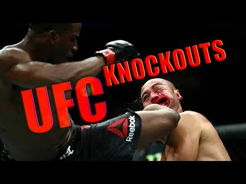 UFC BRUTAL KNOCKOUTS COMPILATION