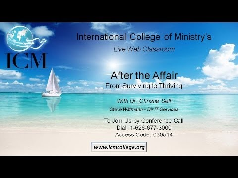 After The Affair - From Surviving To Thriving