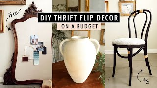 DIY THRIFT FLIP DECOR on a Budget | XO, MaCenna