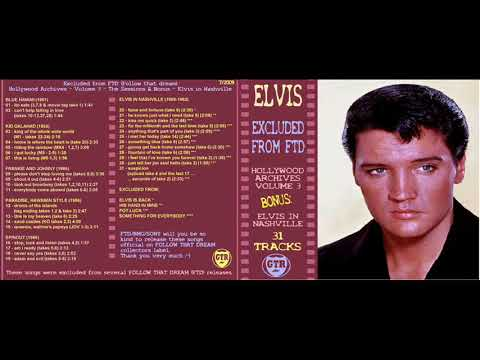 Elvis Presley Excluded From Ftd Vol 3 Hollywood Archives