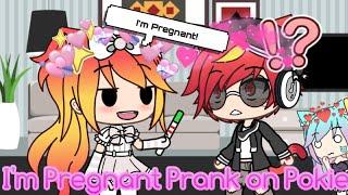 Pregnant Prank on Pokie || Gacha Skit || Prank Wars