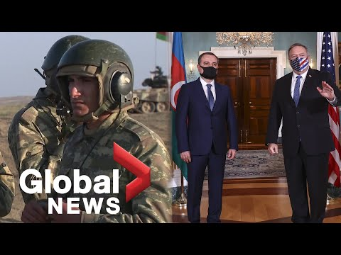 Nagorno-Karabakh Conflict: Azerbaijan's Army Trains Volunteers As US Steps Up Diplomatic Efforts