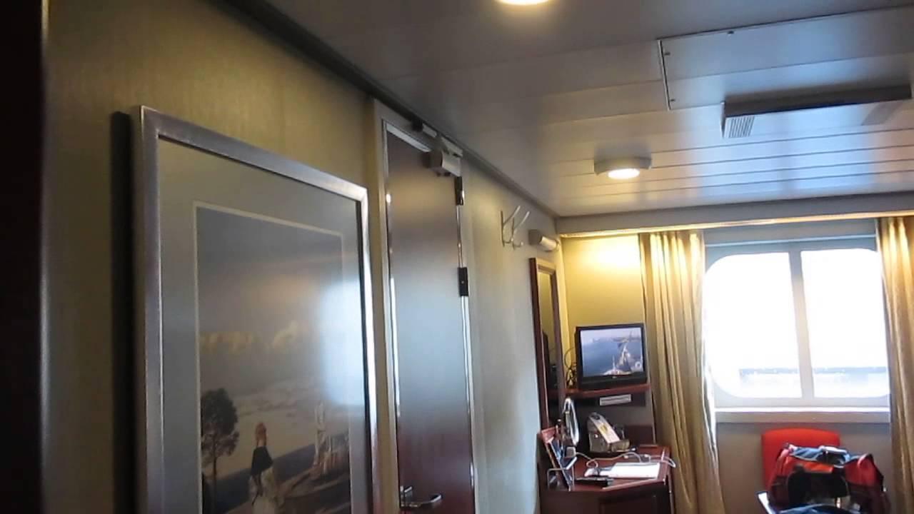 Holland America Ms Eurodam Cabin 1047 Youtube