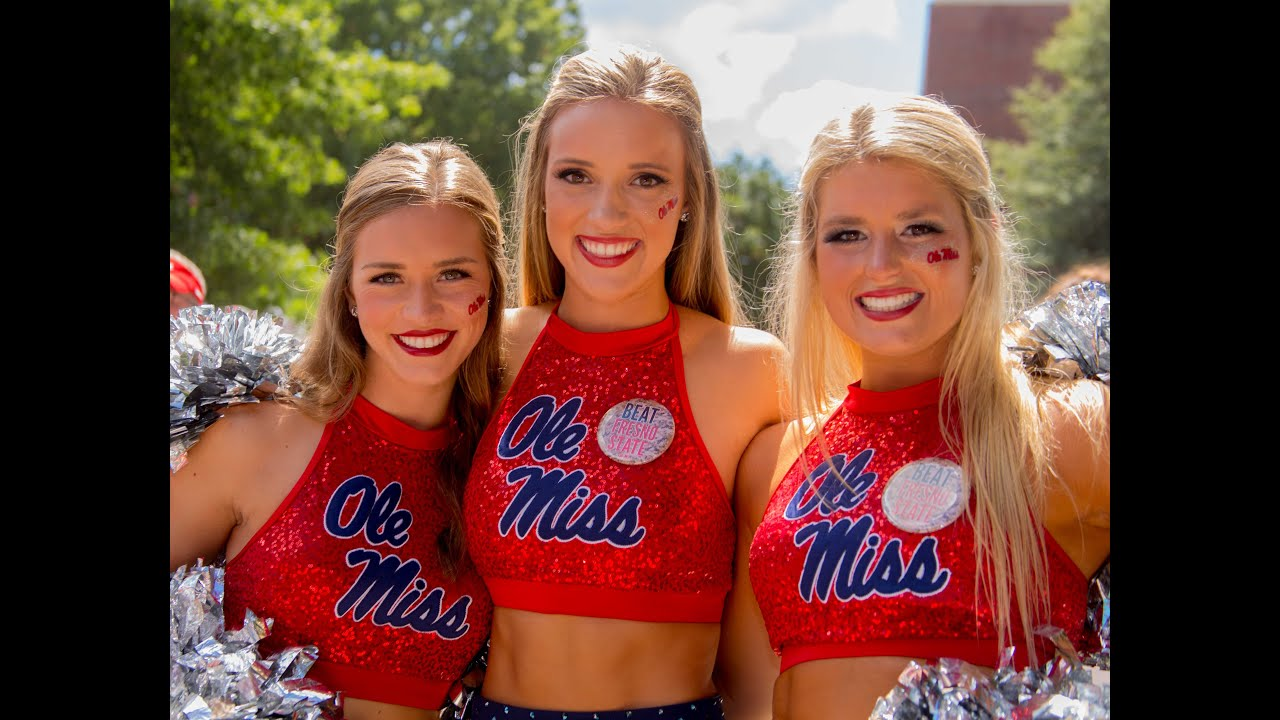 Ole Miss Spirit Squads 2015-2016 -- Rebelettes & Cheer - YouTube