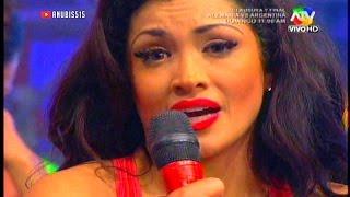COMBATE Michelle Soifer no quiere bailar la nueva cancion 10/07/14