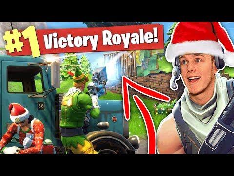 THE NEW SNOWBALL GUN? Christmas Update (Fortnite Battle Royale)