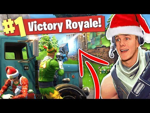 THE NEW SNOWBALL GUN? Christmas Update (Fortnite Battle Royale)