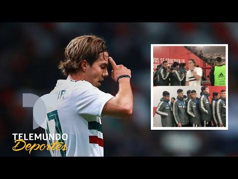El terrible desplante que le hizo el Tri mayor a los seleccionados Sub-17 | Telemundo Deportes
