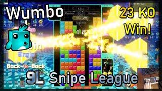 Tetris 99 - Intense 23 KO Snipe League Victory