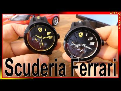 Scuderia Ferrari Uhren 0830224 0830225 Videopräsentation Unboxing In Depth Review