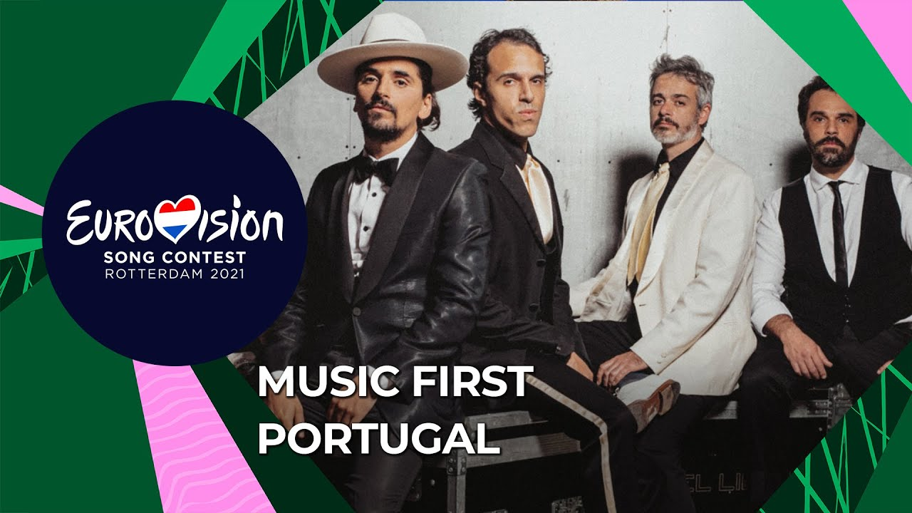 Music First with The Black Mamba from Portugal 🇵🇹 - Eurovision Song Contest 2021