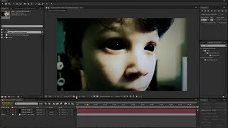 Creepy Demon Eyes - After Effects Tutorial CS3 to CS6 - How to Make Completely Black Eyeballs