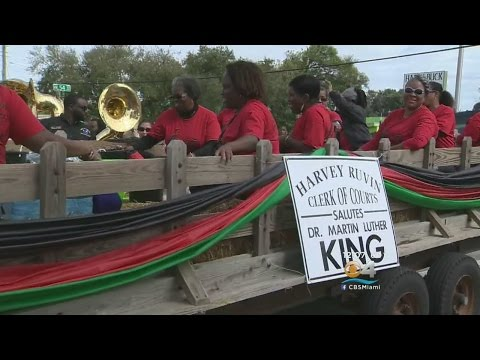 Hundreds Attending Miami Parade In Honor Of Dr. Martin Luther King Jr.