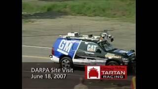 CMU's Tartan Racing Boss : Darpa Site Visit June 18, 2007 : Celebrating 10th Anniversary