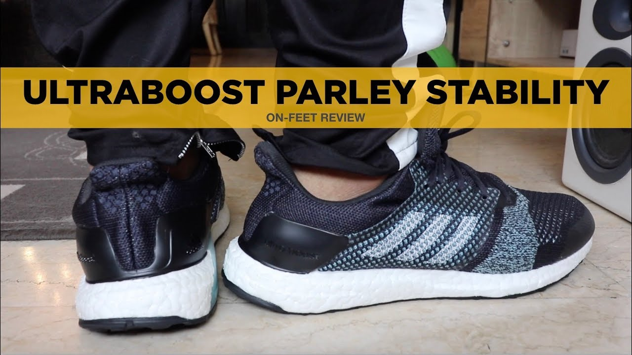 ULTRABOOST PARLEY ST (STABILITY) REVIEW: For the Flat and Wide Feet Peeps!