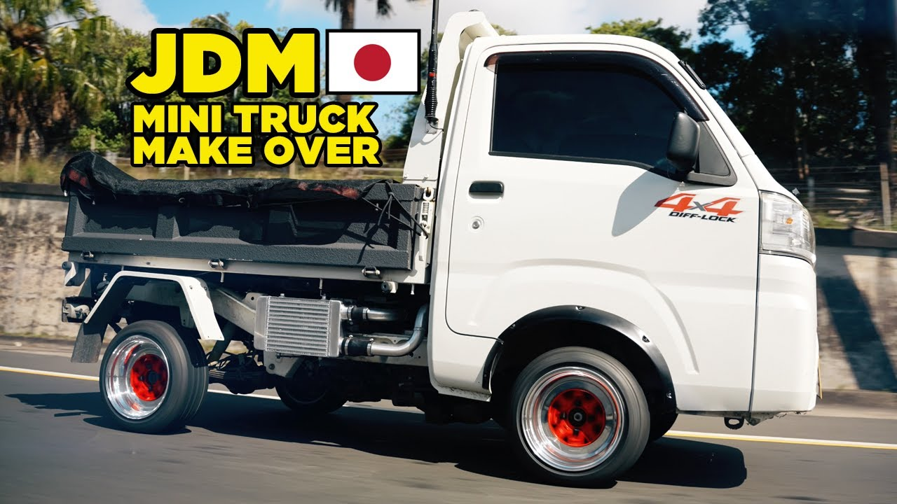 Pimping our JDM Mini Truck