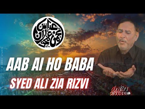 Aab Ai Ho Baba | Ustaad Syed Ali Zia Rizvi | Iec Husaini Imam Bargah | Muharram 1436H