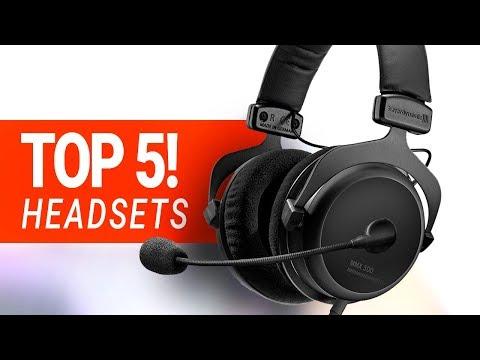 BESTE GAMING HEADSETS 2018!! - Die TOP 5 im Test