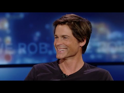 Rob Lowe Classic Interview on George Stroumboulopoulos Tonight