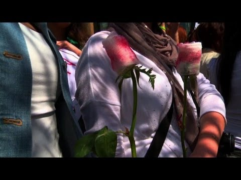 Women rally in Beirut against domestic violence