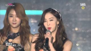 Sistar  Intro  Touch My Body  141012 SBS Hallyu Dream Concert 1080i 19.4