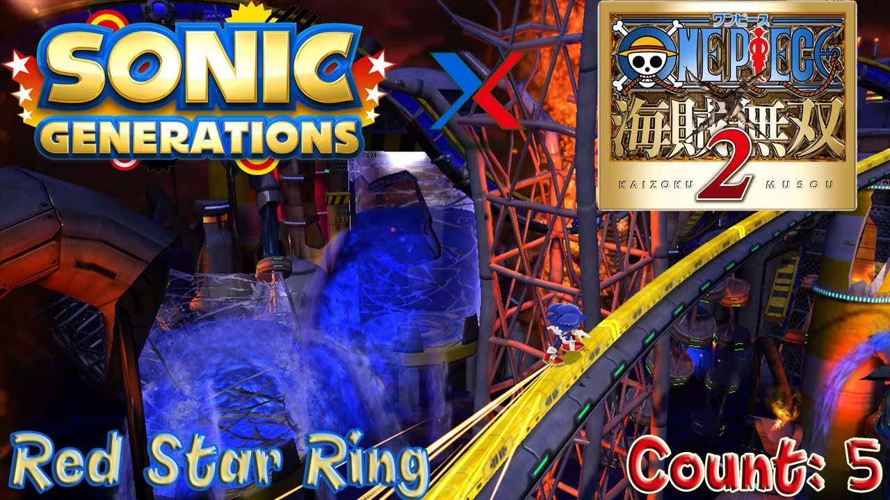 Sonic Generations Chemical Plant Act  Red Rings