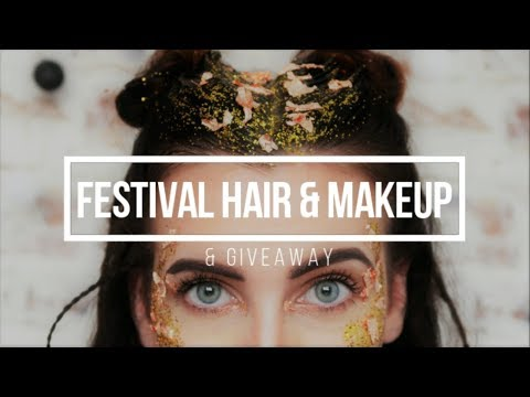 Festival / Coachella / Glastonbury Hair and Makeup