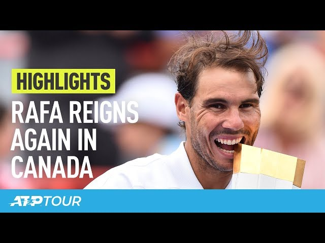 Rafa Nadal's Magic Montreal Week | HIGHLIGHTS | ATP