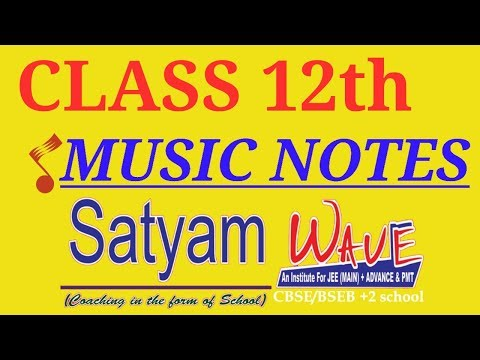 CBSE class 12th music paper//important for board examination