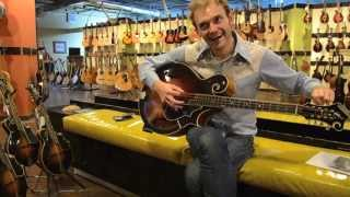 Chris Thile plays a Gilchrist Model 5 Mandocello