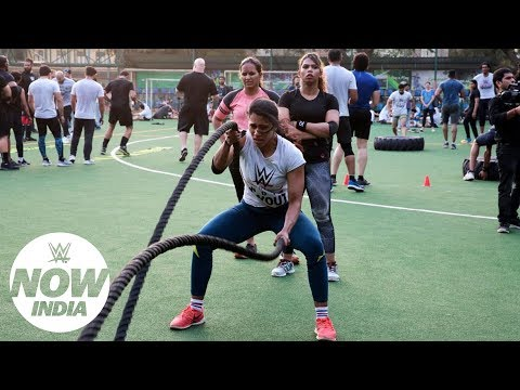 Take a glimpse of WWE's first-ever tryout in India: WWE Now India