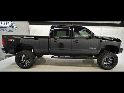 Chevy 2500 Diesel For Sale >> 2011 Chevy Silverado 2500hd Diesel Ltz Lifted Truck For Sale