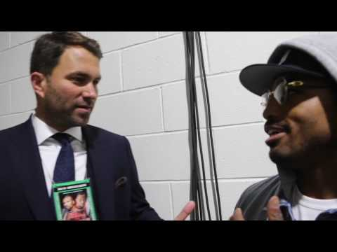 'I'LL GIVE YOU 50K TO FIGHT ROCKY FIELDING!' -EDDIE HEARN & J'LEON LOVE BANTER ABOUT POTENTIAL FIGHT