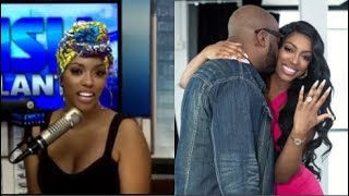 Porsha Williams Puts Engagement Ring Back On & Confirms She's 'Working On' Dennis McKinley