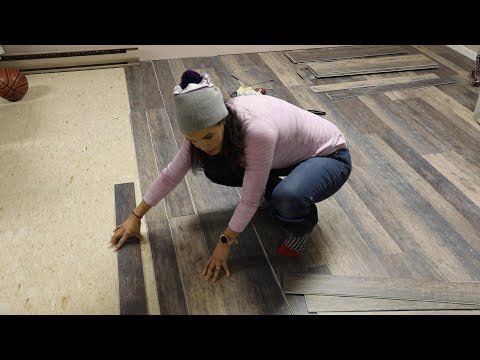 how-to-install-vinyl-flooring-over-tiles-(over-linoleum-tiles)---thrift-diving