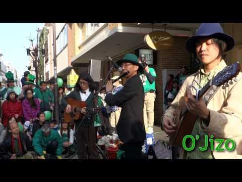O'Jizo(St.Patrick's Day Parade Motomachi,Yokohama 2017)