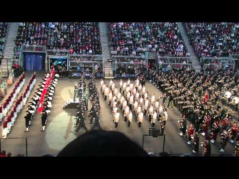 Edinburgh Military Tattoo 2015: Finale and March Out