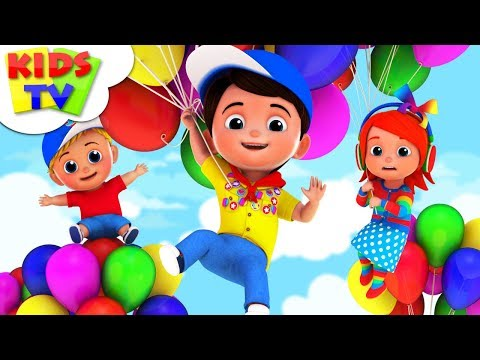 balloon-song- -junior-squad- -kindergarten-rhymes-for-toddlers- -cartoon-videos-by-kids-tv