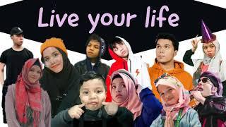 Gen Halilintar - Live Your Life (Lirik)