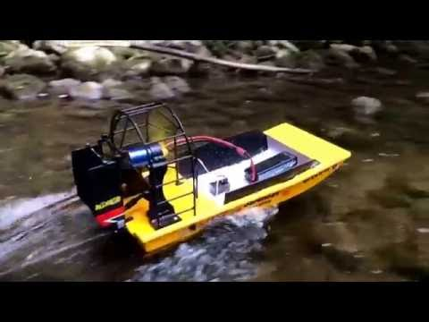 Nitro Rc Airboat Test Run And Ride Along Doovi