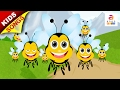 English Rhymes For Children | Beautiful Bumble Bee | Nursery Rhymes And Kids Songs video