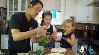 Superbowl QUESADILLAS recipes made with kids!